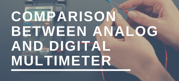 analog vs digital multimeter comparison