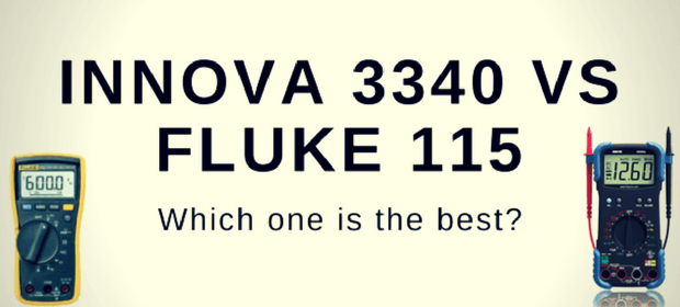 Innova 3340 vs Fluke 115 comparison