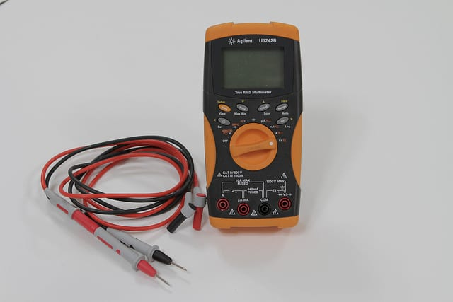 multimeter for testing continuity