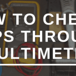 How to Check AMPS through a Multimeter