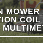 LAWN MOWER IGNITION COIL TEST WITH MULTIMETER