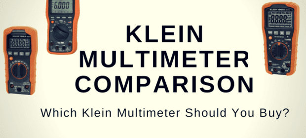 Klein Multimeter Comparison