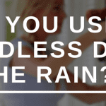Can you use a cordless drill in the rain