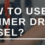 How to use a hammer drill chisel