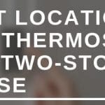 Best location for thermostat in a two-story house