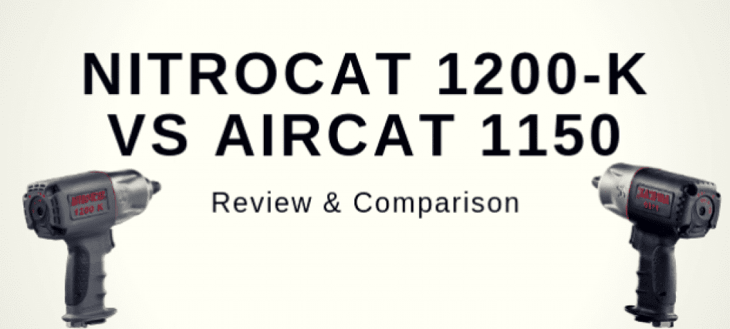 NitroCat 1200-K vs. AIRCAT 1150 reviews and comparison