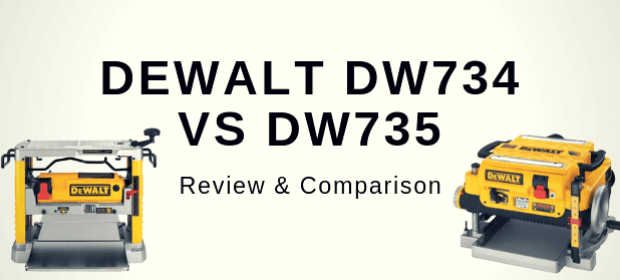 DEWALT DW734 VS DW735 comparison