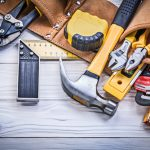 Leather Tool Belt for Electricians